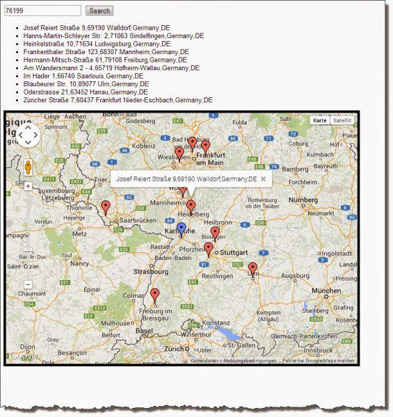 Geocoding (Teil 1) : PLZ Umkreissuche mit Elasticsearch